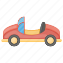 cabriolet car, car, kids car, toy car, toy convertible icon