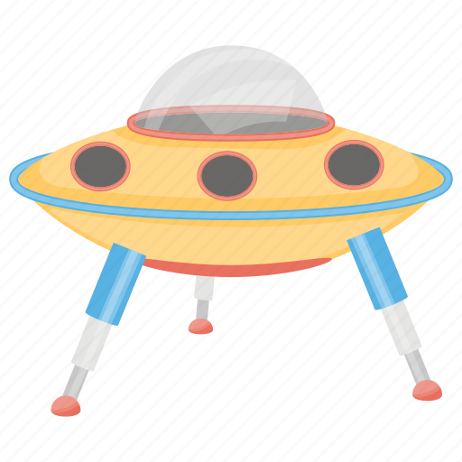 Alien ship, cartoon ufo, flying saucer, kids ufo, toy ufo icon - Download on Iconfinder