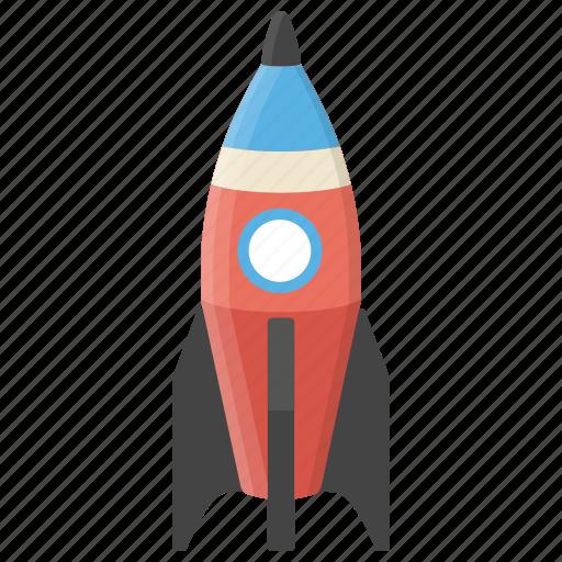 kids rocket, kids toy, playtime, toy, toy rocket icon