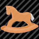 hobby horse, horse toy, kids toy, rocking horse, wooden horse