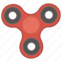 fidget spinner, kids spinner, mechanical toy, metal toy, toy spinner icon