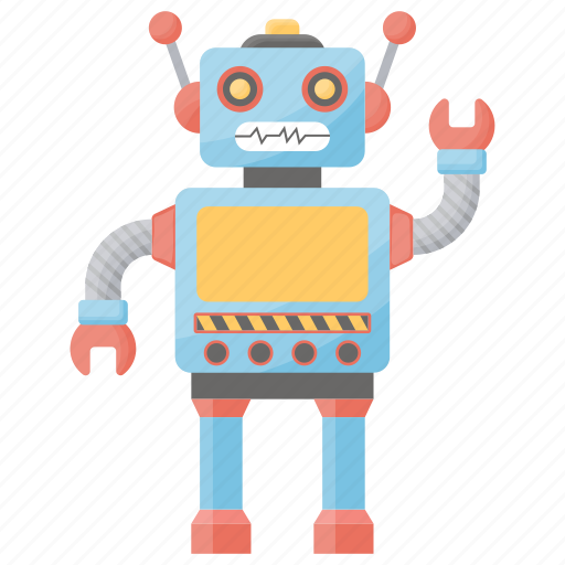 Electric toys, humanoid robot, remote toys, technology toys, toy robot icon - Download on Iconfinder