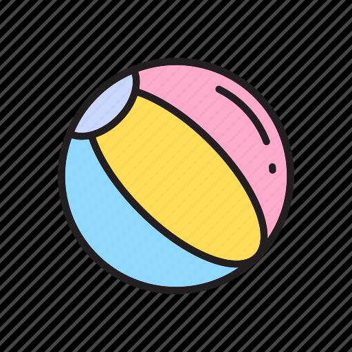 ball, beach ball, toy store, toys icon
