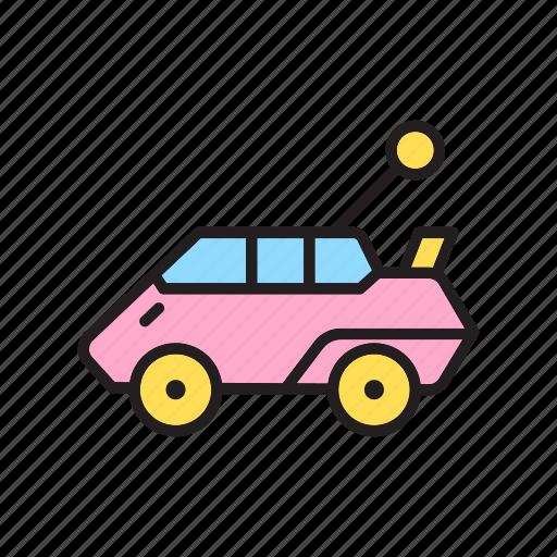 car, kindergarten, toy store, toys icon