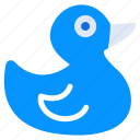 baby duck, duck, duckling, kids toy, quack, rubber duck icon