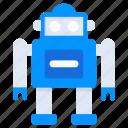 artificial intelligence, bionic man, humanoid, robot icon