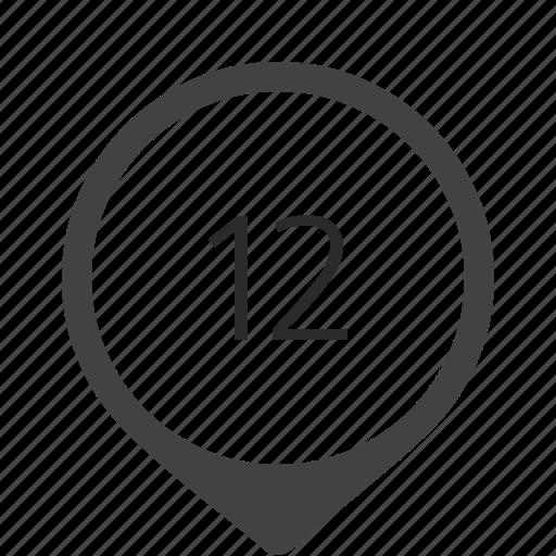 formula, location, number, track, twelve icon