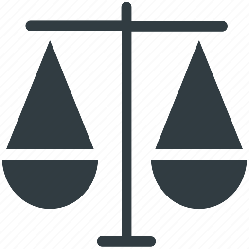 Balance scale, equality, judgment, justice balance, law symbol icon - Download on Iconfinder
