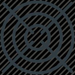 aim, bullseye, dartboard, game, goal icon