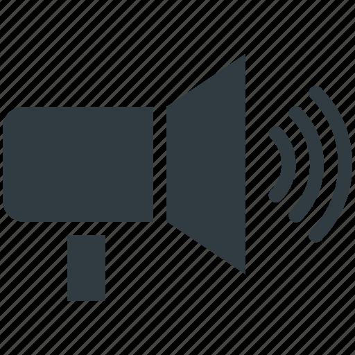 Audio speaker, loud, sound, speaker, volume icon - Download on Iconfinder