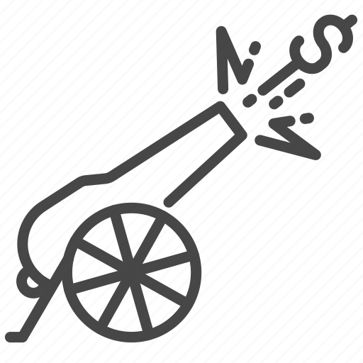 cannon, currency, damage, economic, tariff, trade war, trade wars icon