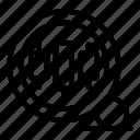 thin, vector, trader, magnifier, yul958 icon