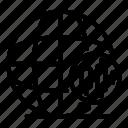 trader, thin, global, 3, vector, yul958 icon