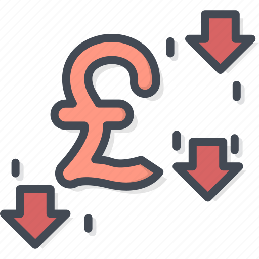 Business, currency, filled, outline, pound icon - Download on Iconfinder