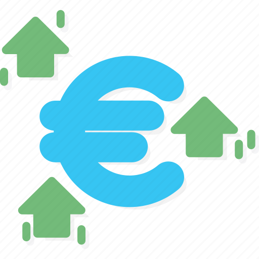 business, currency, euro icon
