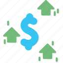 business, currency, dollar icon
