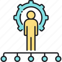 funnel, hierarchy, manager, sales, sales funnel icon