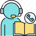 cold call, cold calling, lead generation, phone book, phonebook, sales, yellow pages icon