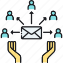 edm, electronic direct mail, email, email blast, email marketing, mail icon