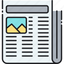 article, news, newspaper, paper icon