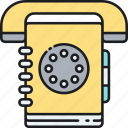 book, contact, phone, phonebook, yellow pages, yellowpage icon
