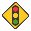 direction, guide, road sign, sign, traffic, traffic sign, warning icon