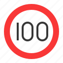 guide, prohibitory, road sign, speed limit, traffic, traffic sign, warning icon
