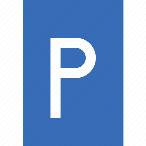 lot, parking, sign, traffic, transport icon