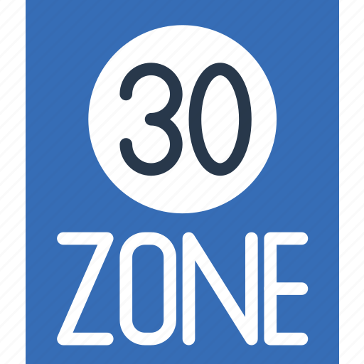 Limit, sign, speed, traffic, transport, zone icon - Download on Iconfinder
