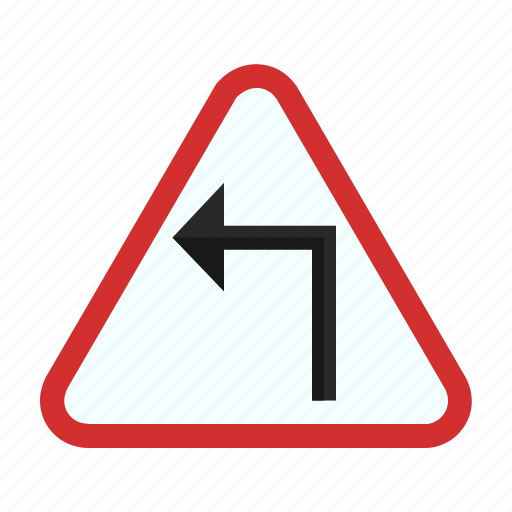 arrow, arrows, construction, fast, left, safety, sign icon