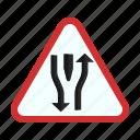 ahead, double, highway, open, road, rural, straight