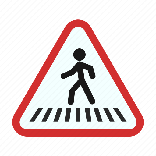 city, cross, crossroads, pedestrian, road, sign, street icon