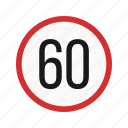 alert, limit, road, sign, speed, traffic