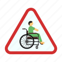 disability, disabled, handicapped, sign, traffic, wheelchair icon
