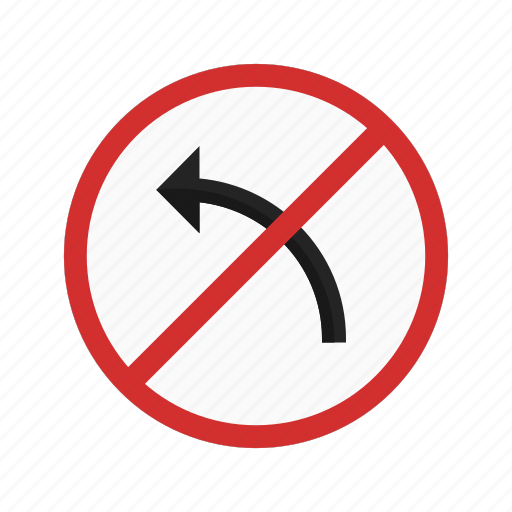 left, red, right, road, sign, traffic, transportation icon