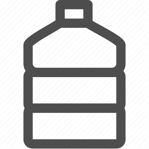 bottle, drink, food, healthy, hydratationexercise, water icon