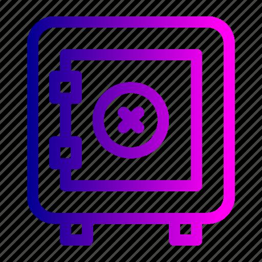 activity, bank, locker, transaction, transfer, vault icon