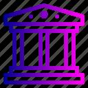 account, activity, bank, building, debit, transaction, transfer icon