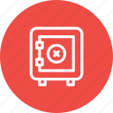 activity, bank, locker, transaction, transfer, vault icon