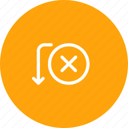 bank, cancel, fail, payment, send, transaction, transfer icon