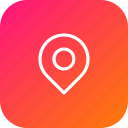 bank, find, location, map, navigation, pin, transfer icon