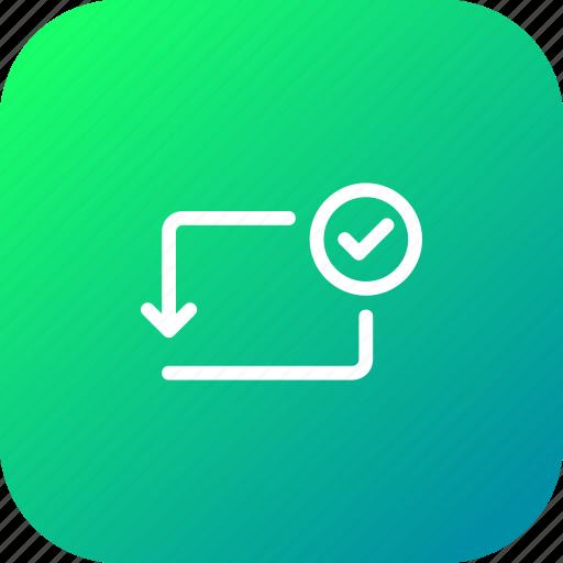 accpet, activity, approve, bank, transaction, transfer, verify icon