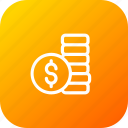 activity, cash, coin, money, payment, transaction, transfer icon