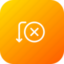 activity, cancel, fail, payment, send, transaction, transfer icon
