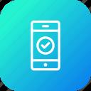 accept, approve, bank, success, transaction, transfer, verify icon