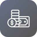 activity, bank, cash, coin, note, transaction, transfer icon