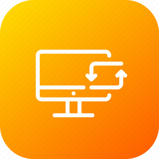 activity, bank, data, laptop, synchronize, transaction, transfer icon