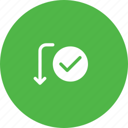 approve, payment, send, success, transaction, transfer, verify icon