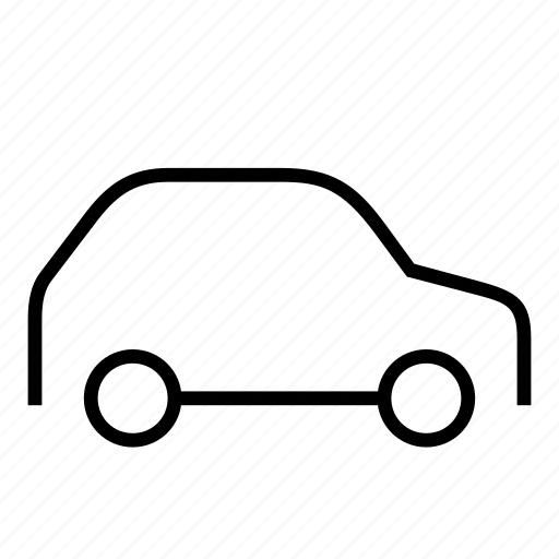 car, hatchback, transit, vehicle icon