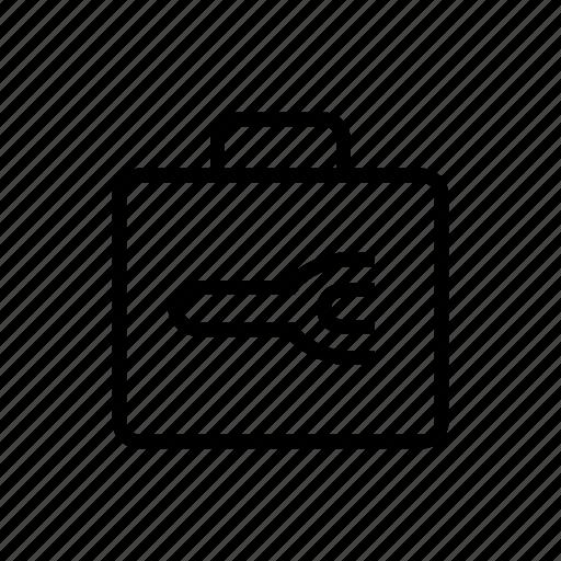 Maintenance, toolbox, transit icon - Download on Iconfinder